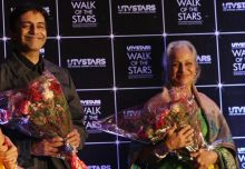 Suneil Anand and Waheeda Rehman at the occasion.