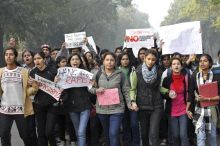 Sea of people came out to protest against Delhi gangrape