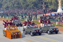National Bravery Awardee childerns, Republic Day final full dress rehearsal, New Delhi