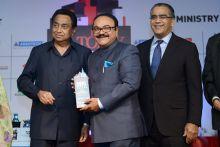 Chhagan Bhujbal, Kamal Nath and Aroon Purie
