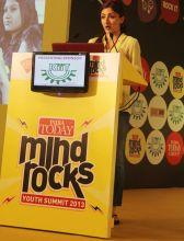 Soha Ali Khan at Mind Rocks Youth Summit 2013