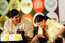 Soha Ali Khan and Kunaal Roy Kapur at Mind Rocks Youth Summit 2013