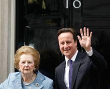 Margaret Thatcher, David Cameron