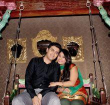 Pratiek Babbar, Amyra Dastur promote Issaq on Amita ka Amit