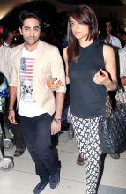 Ayushmann Khuranna with MTV VJ Bani
