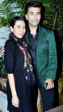 Karisma Kapoor and Karan Johar