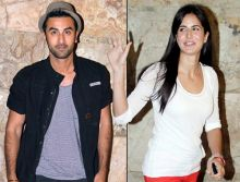 Ranbir Kapoor and Katrina Kaif at Ship of Theseus screening