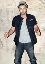 Ranbir Kapoor at Ship of Theseus screening