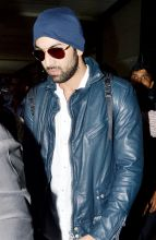 Ranbir Kapoor at Mumbai airport