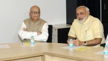 LK Advani and Narendra Modi