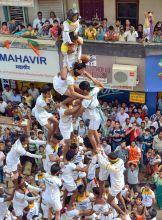 Dahi handi festival