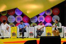 Deepender Hooda, Sanjay Kaul, Arvind Kejriwal and Rahul Kanwal