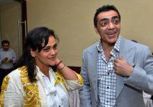Ajay Bijli and Kalli Purie