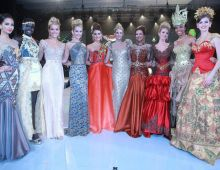 Beauties at Miss World Top Model