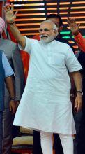 Narendra Modi, Modi Delhi rally