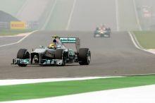 Mercedes' racing car