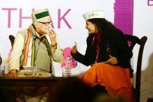 Murli Manohar Joshi, Shazia Ilmi, Jaipur Literature Festival 2014