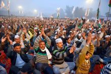 AAP rally in Ballabhgarh