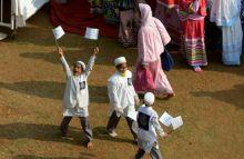 People of Dawoodi Bohra community.