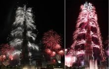 New Year celebrations, Burj Khalifa