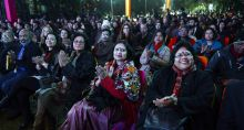Audience at the Jaipur Literature Festival
