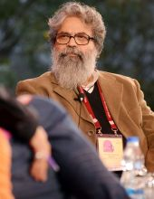 KS Radhakrishnan during JLF.