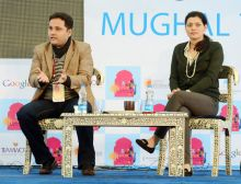 Amish Tripathi in conversation with Meru Gokhale.