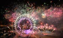 New Year celebrations, London