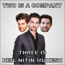 Crazy Twitter photos on Neil Nitin Mukesh