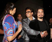 Deepika, Ranveer and Ali Zafar