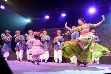 Rajasthani folk dance, Jaipur Literature Festival 2014