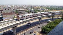 Jaipur Metro trial run