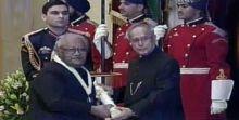 CNR Rao & Pranab Mukherjee
