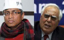 Ashutosh and Kapil Sibal