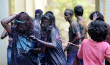 Holi celebrations in Mumbai