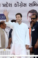 Rahul Gandhi, Balasinor rally, Gujarat
