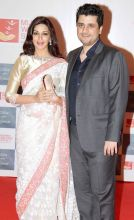 Sonali Bendre with Goldie Behl