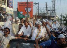 Arvind Kejriwal roadshow