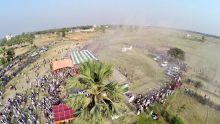 Nitish Kumar's Chhapra rally