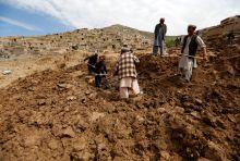 Afghan landslide
