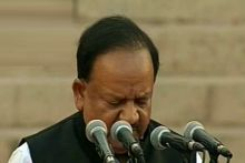 Dr Harsh Vardhan, Team Modi oath ceremony