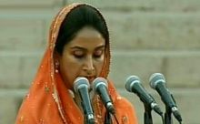 Harsimrat Kaur Badal, Team Modi oath ceremony