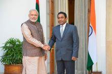 Narendra Modi, Presideenout Abdulla Yameen Abdul Gayoom