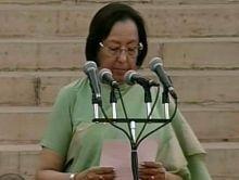Najma Heptulla, Team Modi oath ceremony
