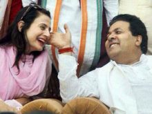 Amisha Patel and Rajiv Shukla