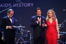 John Travolta, Kelly Preston, Simon de Pury