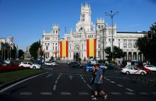 Town Hall in Madrid