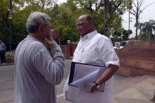 Sitaram Yechury, Sharad Pawar