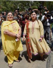 Sangeeta and Sonali Jaitley