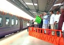 PM Modi flags off special train to Vaishno Devi